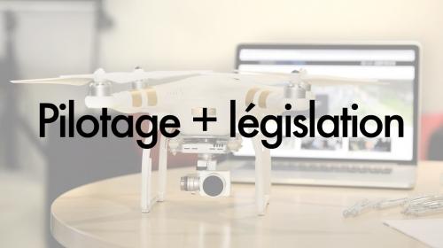 Photo Formation législation et pilotage de drone