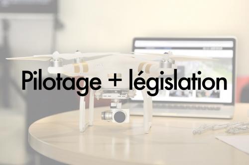 Formation législation et pilotage de drone