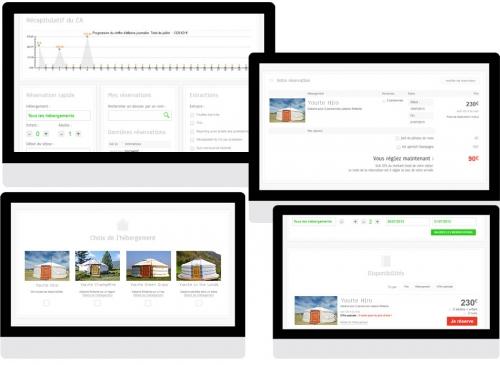 Solutions de réservation en ligne personnalisables