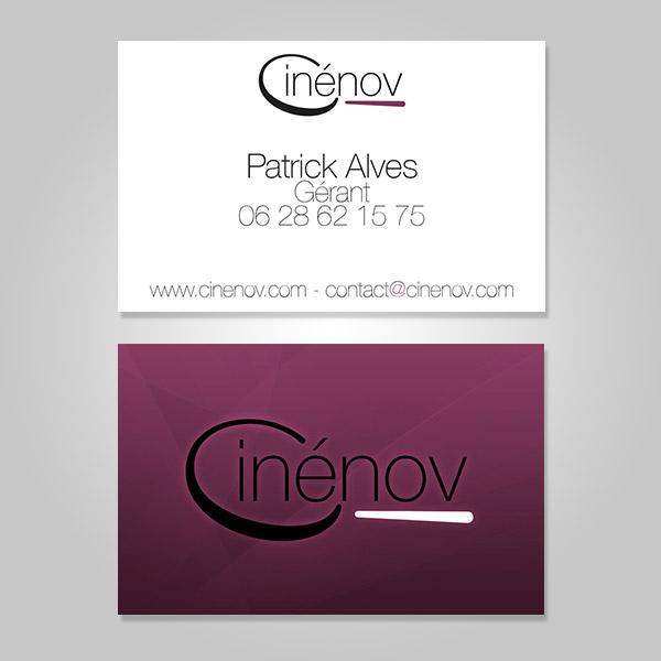 Cartes de visite Cinenov